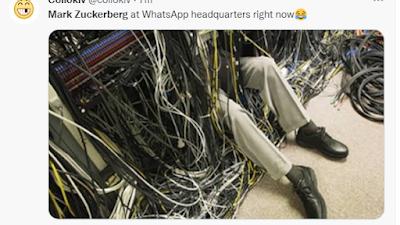 Kumpulan Foto Meme dan Video Meme Ketika Facebook Whatsapp Instagram Down