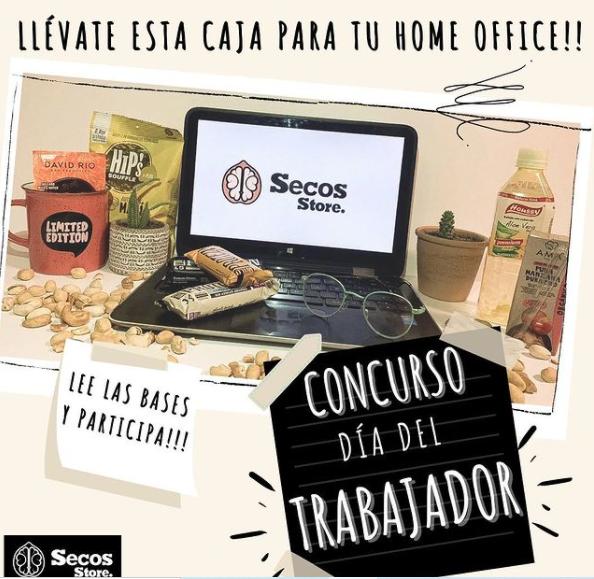 Sorteo Secos Store en Instagram