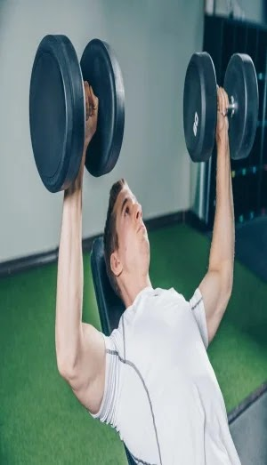 Best Exercises For Chest, incline dumbbell press