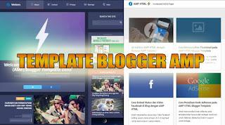 template blogger amp - kanalmu