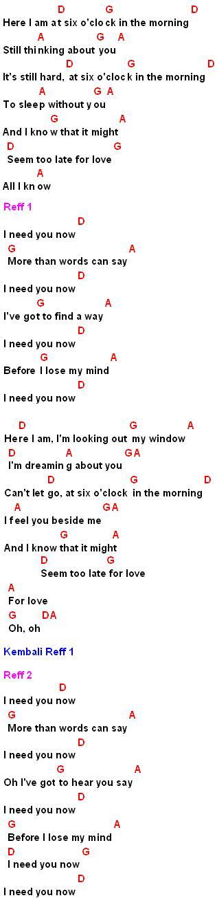 Lirik Lagu More Than Word : lirik, Words, Say(Alias)-Chord,Lirik, Review, MyNotepat.Com