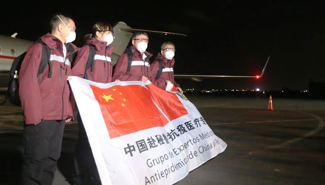 Médicos de China trabajarán con doctores peruanos en lucha contra el Covid-19