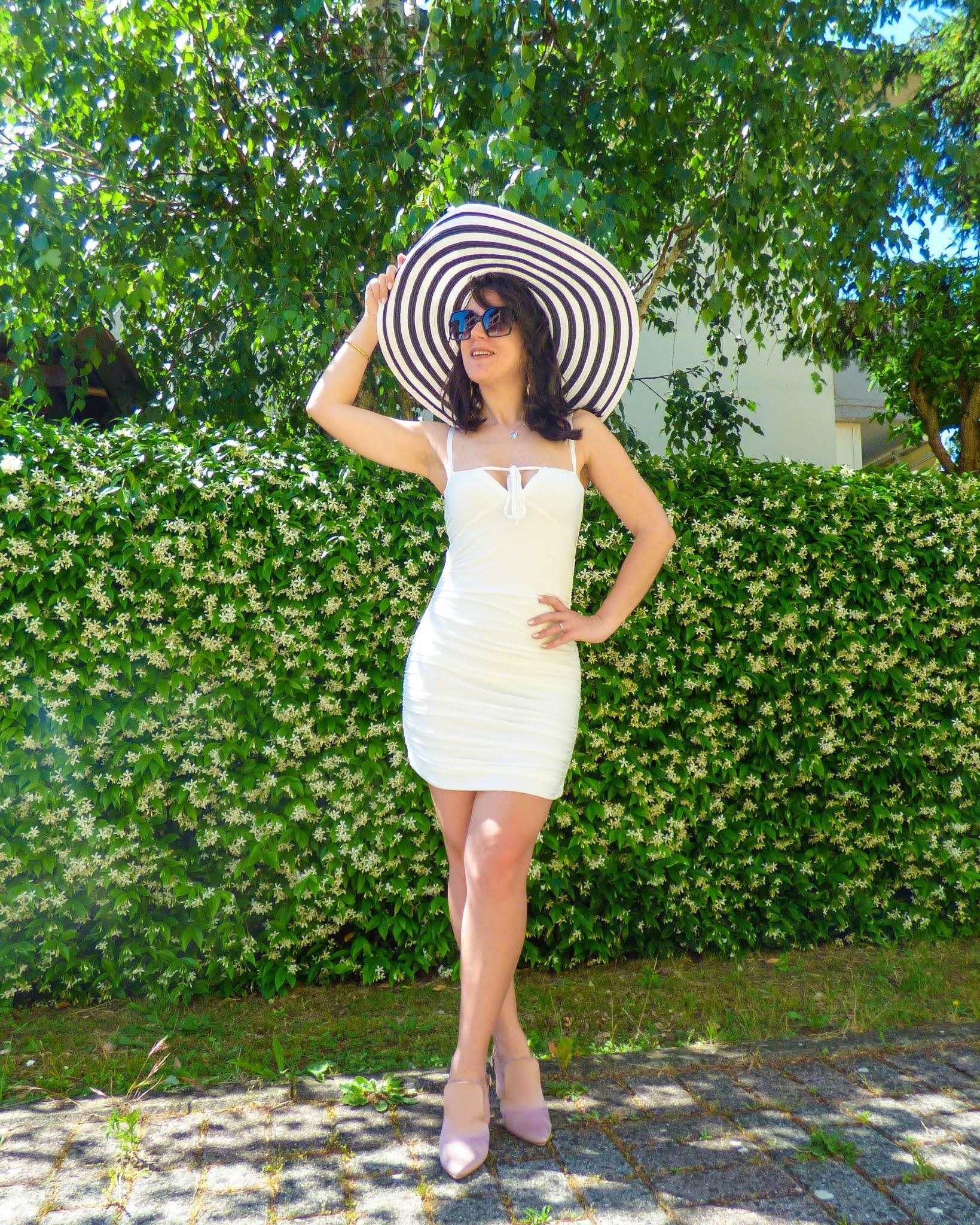 white dress summer 2021
