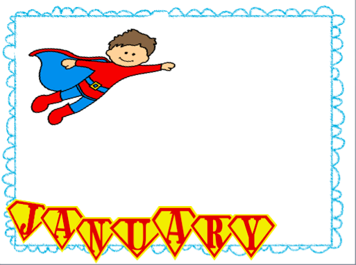 Superhero Birthday Pages