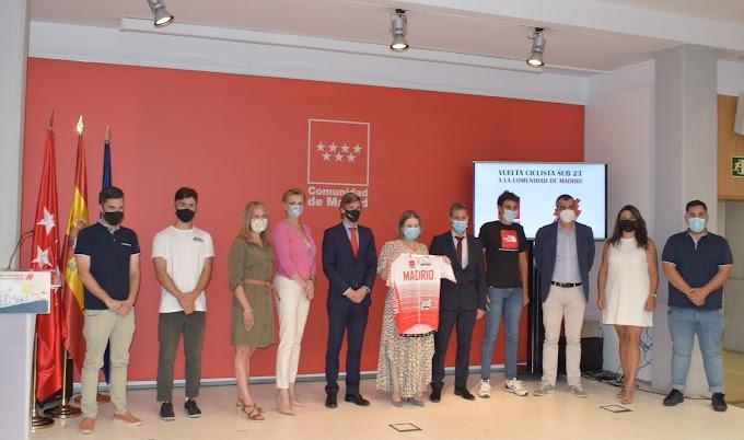 Se presentó la XXXIII Vuelta Ciclista a la Comunidad de Madrid sub23