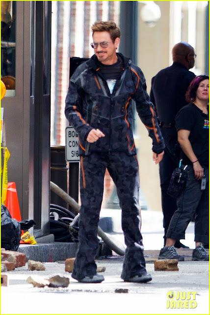 А вот и Старк в костюме захвата движения.