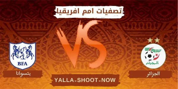 تقرير مباراة الجزائر وبتسوانا في تصفيات أمم أفريقيا