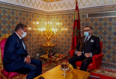 Le Roi Mohammed VI reçoit Aziz Akhannouch et le charge de former le gouvernement