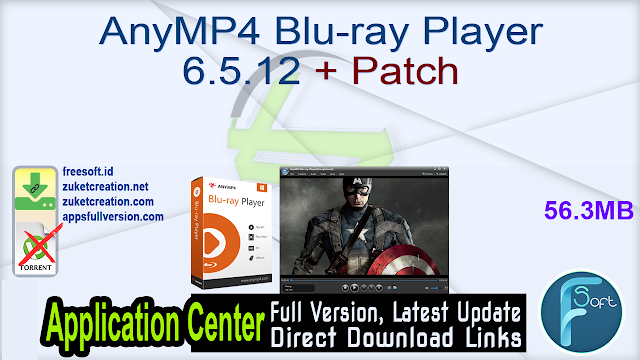 AnyMP4 Blu-ray Player 6.5.12 + Patch