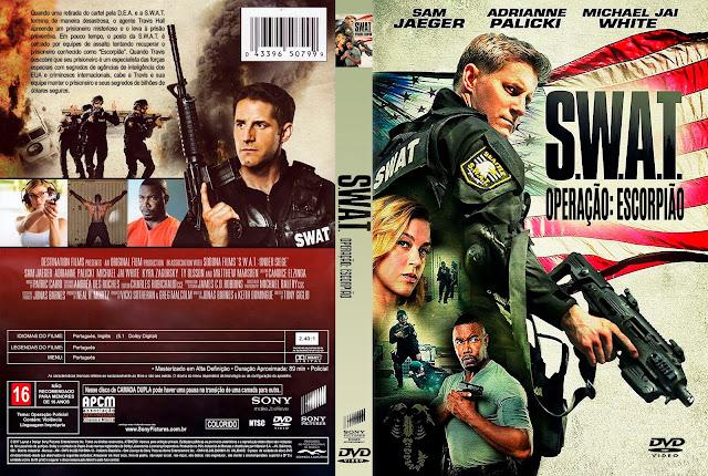 Capa DVD S.W.A.T. Operação: Escorpião [Exclusiva]