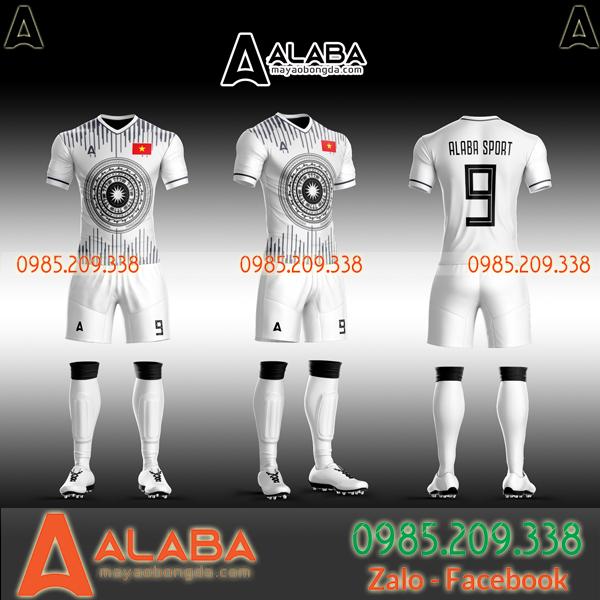 Áo bóng đá Việt Nam trắng
