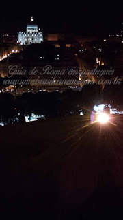 Tours portugues Roma noturna