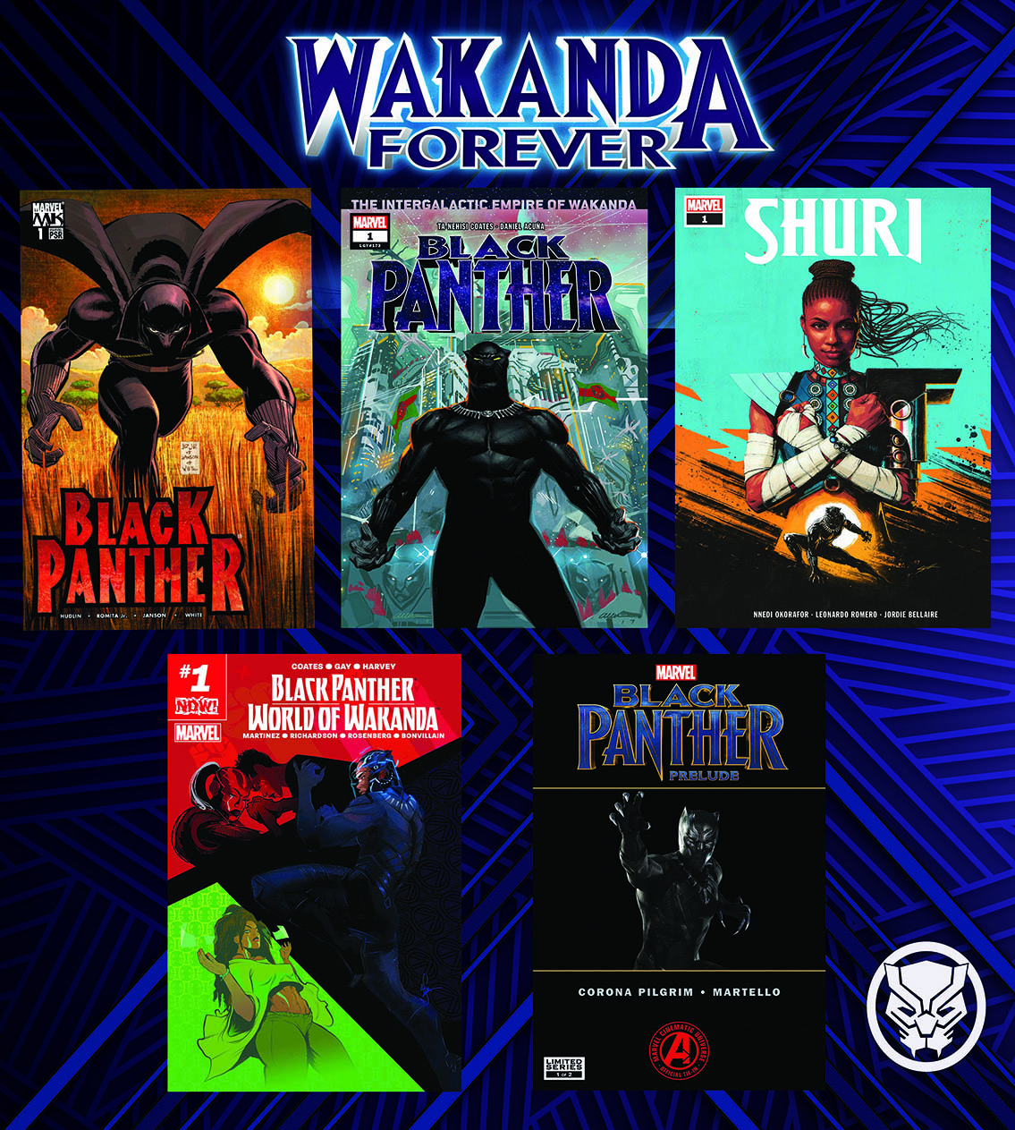 Celebrate Wakanda Forever this February with a free digital