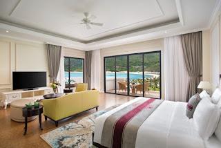 villa 3 hướng biển resort nha trang