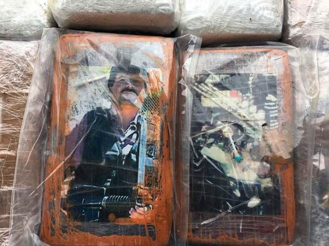 Incautan droga en Perú con etiquetas de Pablo Escobar y 'El Chapo'