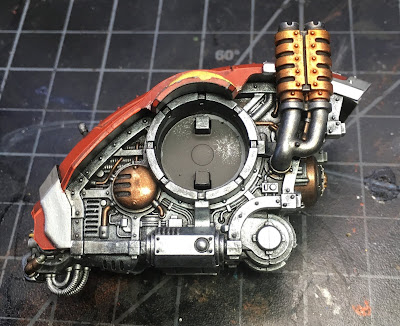WIP House Taranis Armiger Warglaive Body details