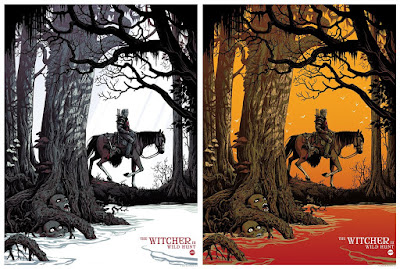 San Diego Comic-Con 2020 Exclusive The Witcher 3: Wild Hunt Screen Print by Becky Cloonan x Mondo