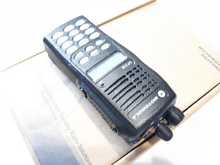 Handy Talky HT Motorola GP338 GP-338 VHF Baru Sisa Stok