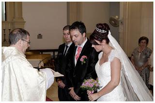 Fotografía de boda -  Ceremonia parroquia San Sebastián - Almería