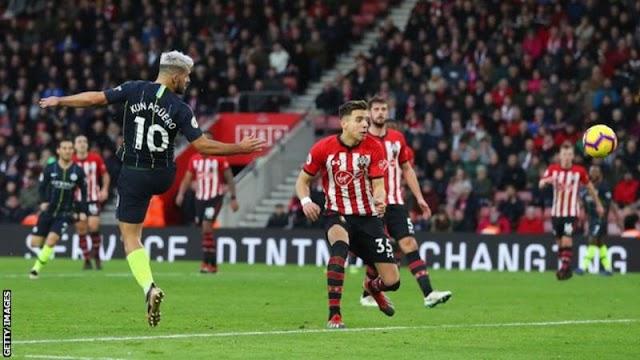 Man City End Poor Run, Defeat Southampton As Man U Win 4-1