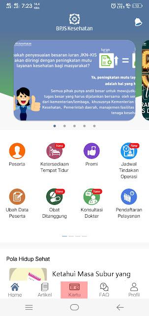 Cara Mencetak Kartu BPJS Kesehatan (e-ID) di aplikasi mobile JKN