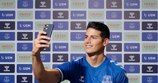 Everton, James Rodriguez signing will accelerate Everton's international growth plans with his follower base of 100m