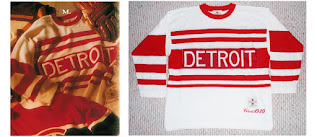 NHL CCM Heritage Jersey Collection - Detroit Cougars circa 1930