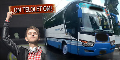 Sopir Bus dan Kemenhub Komentari Om Telolet Om