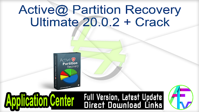 Active@ Partition Recovery Ultimate 20.0.2 + Crack