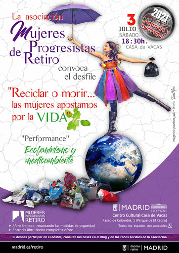 Desfile/Performance 'Reciclar o morir... las mujeres apostamos por la VIDA'