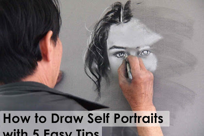 How to Draw Self Portraits with 5 Easy Tips