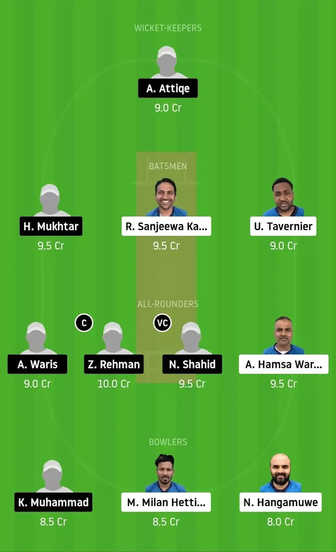 VCC vs GHC Dream 11 Team Prediction | Best Dream 11 Team For Finnish Premier League 2020