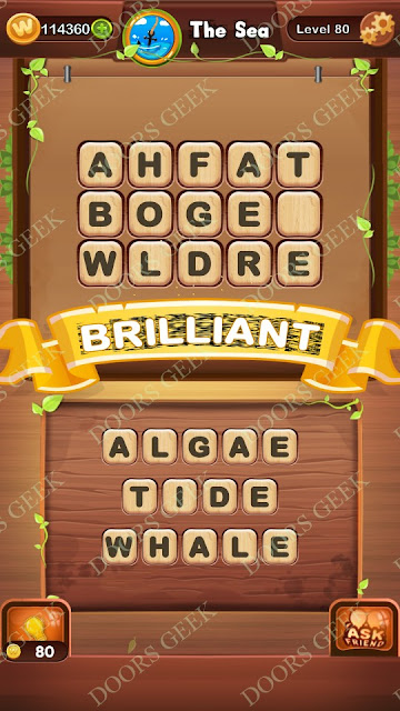 Word Bright Level 80 Answers, Cheats, Solutions, Walkthrough for android, iphone, ipad and ipod