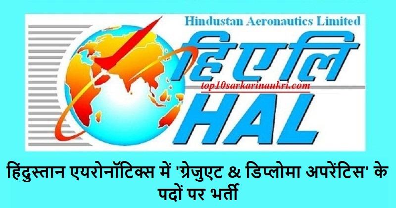 Hindustan Aeronautics Recruitment 2019
