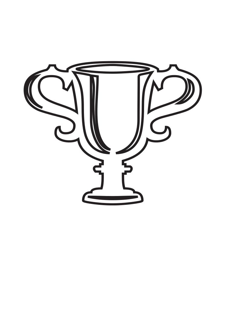 victory cup coloring page  galerry wallpaper