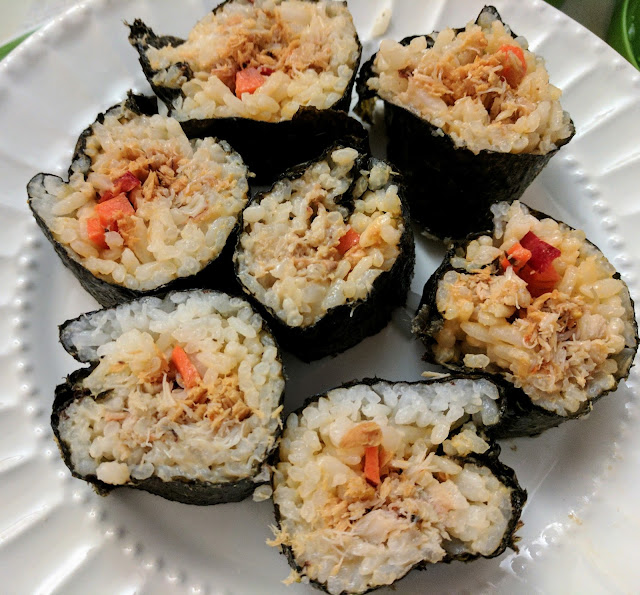 Summer Cooking Adventures and recipe- Homemade Sushi