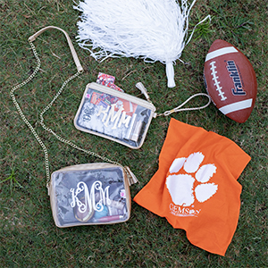 personalized crossbody bags for tailgating
