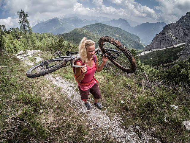 Monte Flop über Sentiero 435 und 437 • Mountainbike