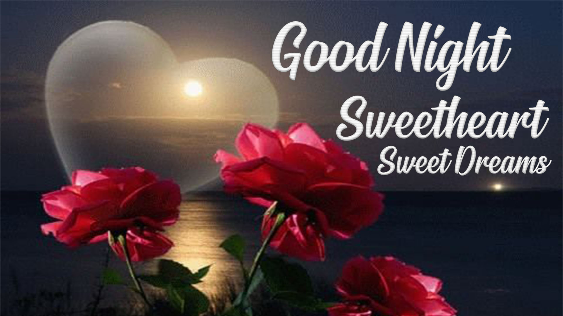 good night sweetheart images
