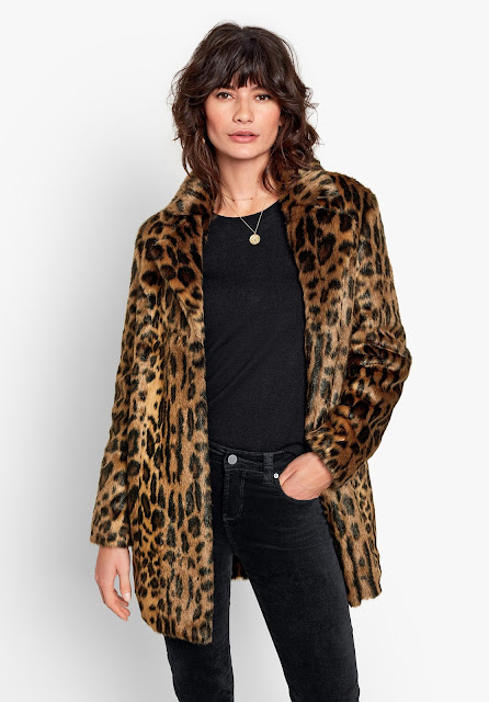 hush lizzy faux fur coat