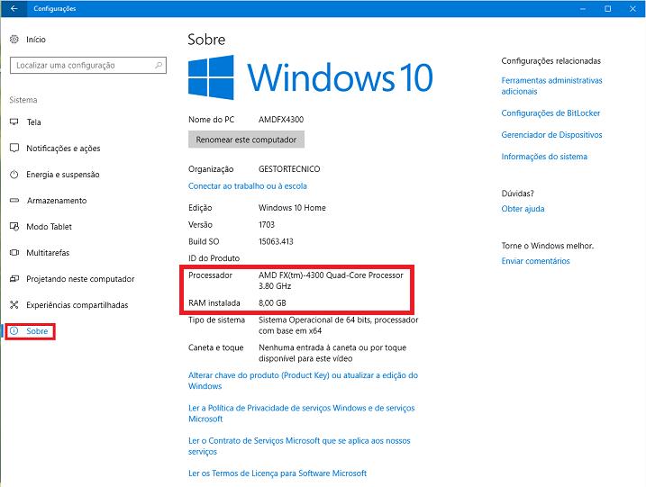 Windows10-Processador-Memória