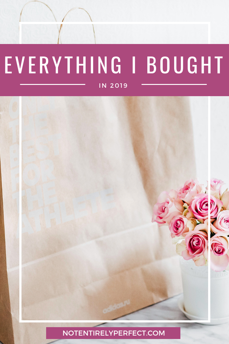 Everything I Bought (and Acquired) in 2019
