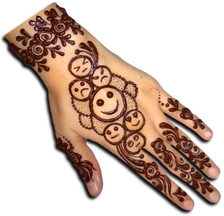 Emoji Henna for Kids