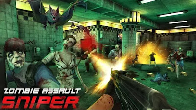 Download Zombie Assault Sniper v1.2.4 Mod Apk Terbaru 2020 Free Shopping