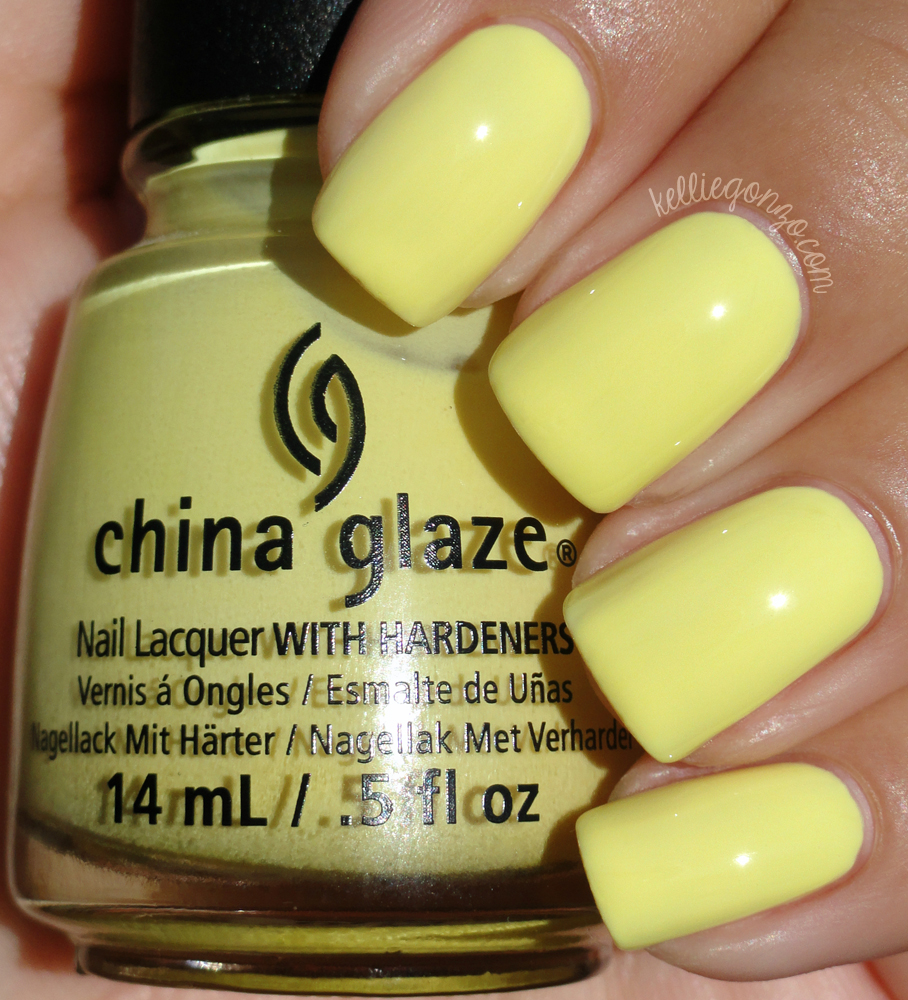 China Glaze - Sun Upon My Skin // kelliegonzo.com