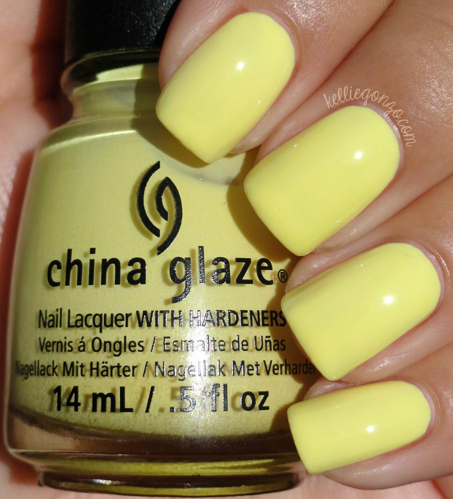 China Glaze - Sun Upon My Skin // kelliegonzo.com