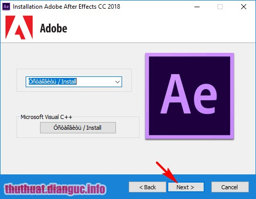 Download Adobe After Effect CC 2018