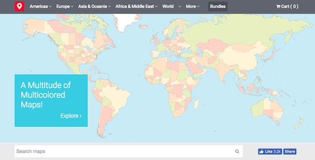 免費臺灣地圖下載 Free Vector Maps 有世界各國地圖向量圖檔