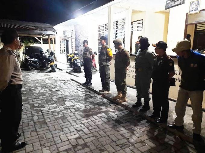 Tujuh Pelaku Kejahatan Jalanan Terjaring Operasi Cipkon Gabungan Polsek Benteng dan Satpol PP