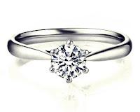 Cincin nikah emas putih pengantin wanita